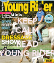 KEEP CALM AND READ YOUNG RIDER - Personalised Poster large