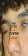 KEEP CALM AND REMENBER UISCAS - Personalised Poster large