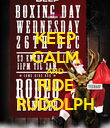 KEEP CALM AND RIDE RUDOLPH - Personalised Poster large