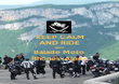 KEEP CALM AND RIDE WITH Balade Moto  Rhônes-Alpes - Personalised Poster large