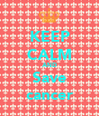 KEEP CALM AND Save cancer - Personalised Poster large