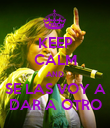 KEEP CALM AND SE LAS VOY A DAR A OTRO - Personalised Poster large