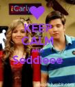 KEEP CALM AND Seddieee  - Personalised Poster large