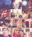 KEEP CALM AND SEE  THE PERKS OF BEIGN A  WALLFLOWER - Personalised Poster large