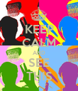 KEEP CALM AND SEE THIS - Personalised Poster large