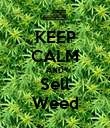 KEEP CALM AND Sell Weed - Personalised Poster large