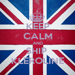 KEEP CALM AND SHIP  KLEROLINE - Personalised Poster small