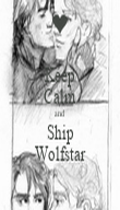 Keep Calm and Ship Wolfstar - Personalised Poster large