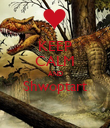 KEEP CALM AND Shwoptart  - Personalised Poster large