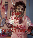 KEEP CALM AND SLAY DIRECTIONERS - Personalised Poster large
