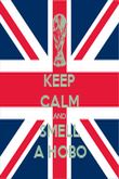 KEEP CALM AND SMELL A HOBO - Personalised Poster large