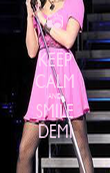 KEEP CALM AND SMILE DEMI - Personalised Poster large