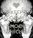KEEP CALM AND SMOOK CHICHA - Personalised Poster large
