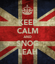 KEEP CALM AND SNOG LEAH - Personalised Poster large