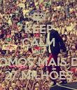 KEEP CALM AND SOMOS MAIS DE 27 MILHÕES - Personalised Poster large