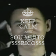 KEEP CALM AND SOU MUITO  $$$RICO$$$ - Personalised Poster large
