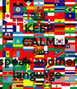 KEEP CALM AND speak another language  - Personalised Poster large