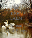 KEEP CALM AND Spread Your Wings - Personalised Poster large