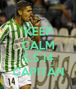 KEEP CALM AND S.S.14 CAPITÁN - Personalised Poster large