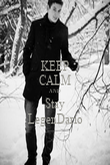 KEEP CALM AND Stay LegenDario - Personalised Poster large