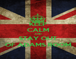 KEEP CALM AND STAY OUT OF ADAMS ROOM - Personalised Poster large