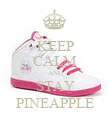 KEEP CALM AND STAY PINEAPPLE - Personalised Poster large