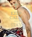 KEEP CALM AND STAY #SWAG - Personalised Poster large
