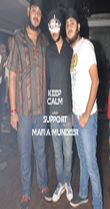 KEEP CALM AND SUPPORT MAFIA MUNDEER - Personalised Poster large