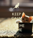 KEEP CALM AND TAKE ME HOME - Personalised Poster large