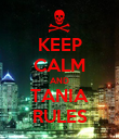 KEEP CALM AND TANIA RULES - Personalised Poster large