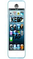 KEEP CALM AND TAP  - Personalised Poster large