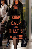 KEEP CALM AND THAT´S ALL!!!!!!! - Personalised Poster large