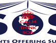 KEEP CALM AND THINK SOS - Personalised Poster large