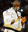 KEEP CALM AND THROW IPPON - Personalised Poster large