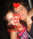 KEEP CALM AND Ti Voglio Tanto Bene! - Personalised Poster large