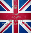 KEEP CALM AND TIRATE UN TEAM DEATHMATCH - Personalised Poster large