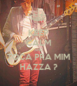 KEEP CALM AND TOCA PRA MIM HAZZA ? - Personalised Poster large