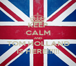 KEEP CALM AND TOM HOLLAND IS HERE!!!!!! - Personalised Poster large