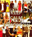 KEEP CALM AND TOMORROW ok - Personalised Poster large