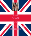 """KEEP CALM AND TONE THOSE THIGHS! """"23 INCHES!"""" - Personalised Poster large"""