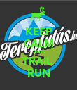 KEEP CALM AND TRAIL  RUN - Personalised Poster large