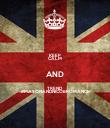 KEEP CALM AND TREND #MASONANDNICOBROMANCE - Personalised Poster large
