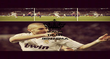 KEEP CALM AND TRUST BENZEMA - Personalised Poster large