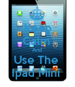 Keep Calm  And  Use The  Ipad Mini  - Personalised Poster small
