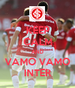 KEEP CALM AND VAMO VAMO INTER - Personalised Poster large