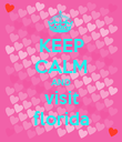 KEEP CALM AND visit florida - Personalised Poster large