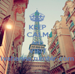 KEEP CALM AND VISIT ivahanna.tumblr.com - Personalised Poster large