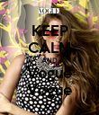 KEEP CALM AND Vogue Vogue - Personalised Poster large