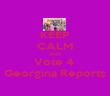 KEEP CALM AND Vote 4  Georgina Reports - Personalised Poster large