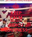 KEEP CALM AND WACH RIDICU LOUSNESS - Personalised Poster large